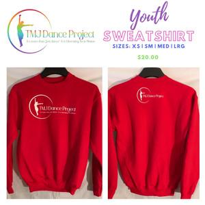 Youth Sweatshirt | Red