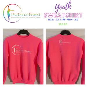 Youth Sweatshirt | Pink