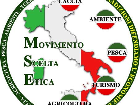 MOVIMENTO POLITICO SCELTA ETICA E' ANCHE UNIONE ITALIANA DELLE ASSOCIAZIONI DEI CACCIATORI.