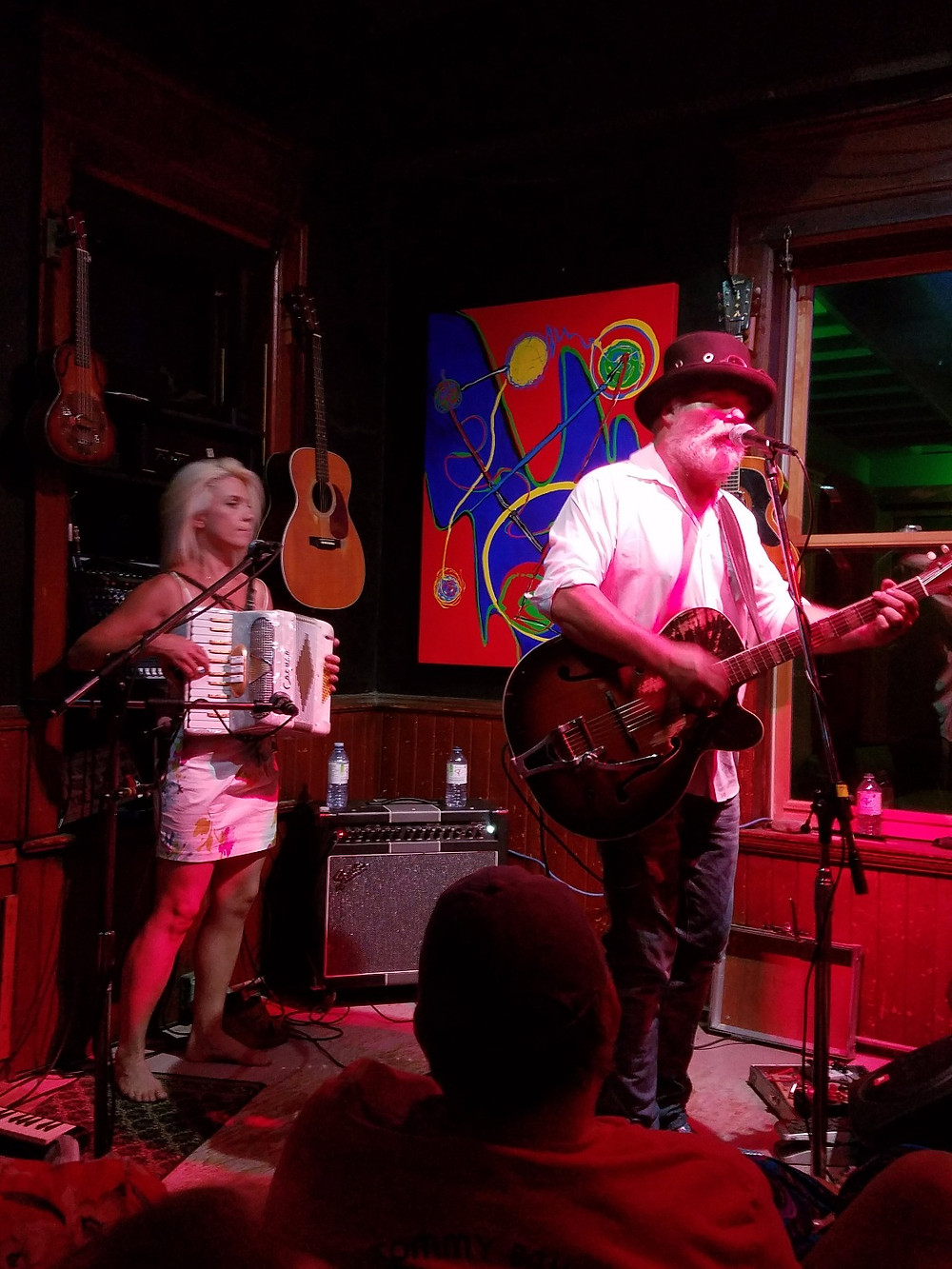 Fred Eaglesmith and Tif Ginn at the Cafe Carpe
