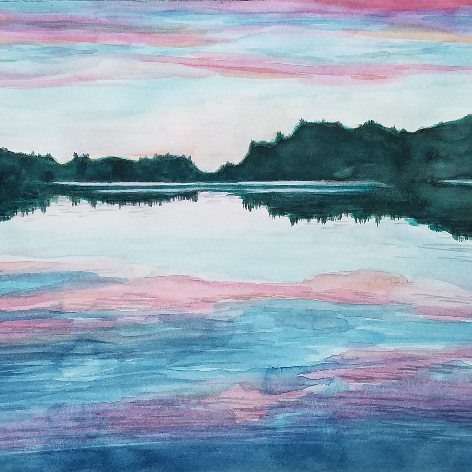 Parker Pond, Casco, ME