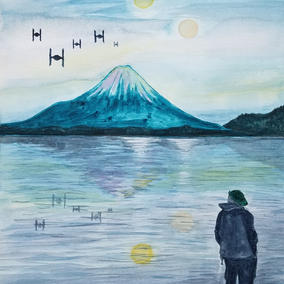 Fuji, Sean and Star Wars