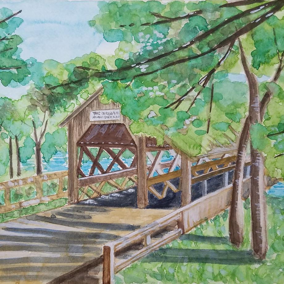 Covered Bridge, Shirley MA