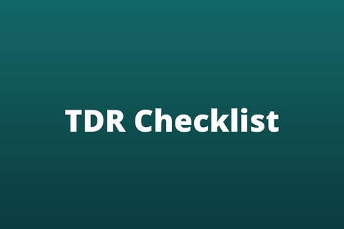 Troubled Debt Restructuring RISKGUIDE Checklist