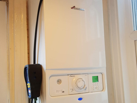 New Worcester-Bosch boiler fitted in Croydon