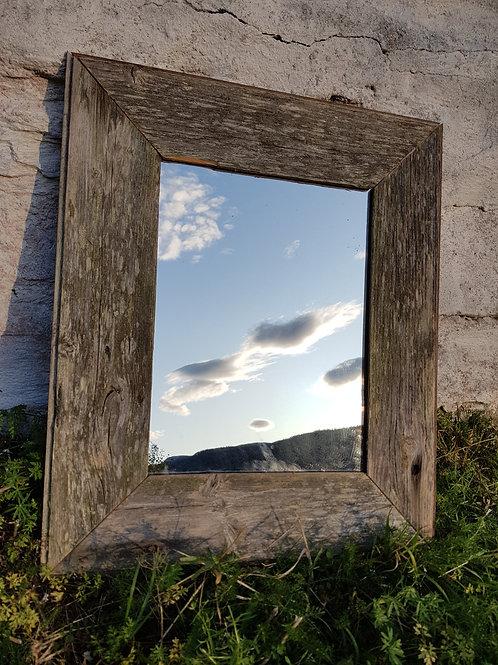 Rustikk speil