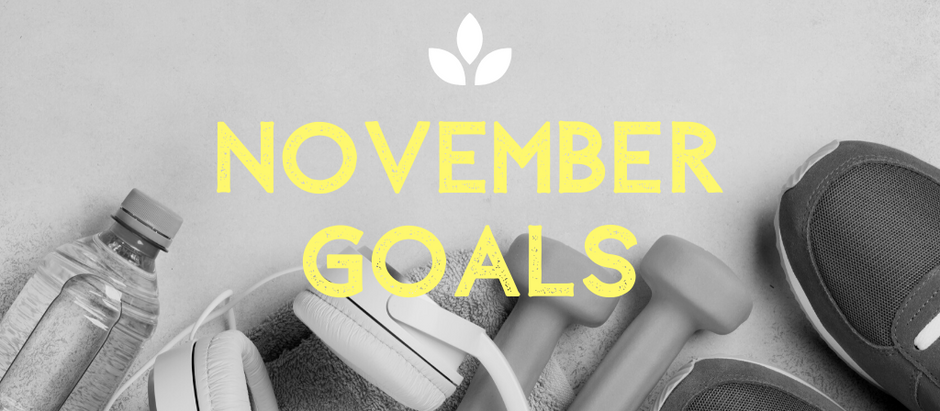 November Wellness Goals