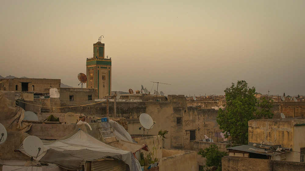 riad rooftop fes