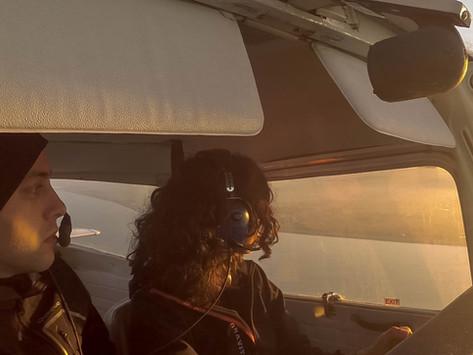 FLYING AROUND DUBLIN