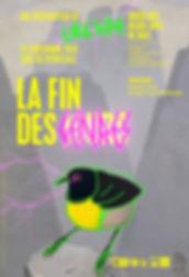 La Fin des Genres_Affiche_©Musée des Beaux-Arts de Dole x Gang Reine