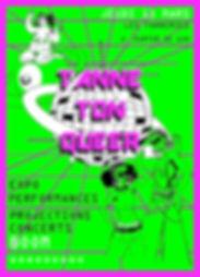 Tanne ton Queer_Affiche(Cadre)_©Gang Reine