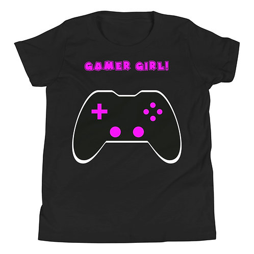 Gamer Girl Youth Short Sleeve T-Shirt