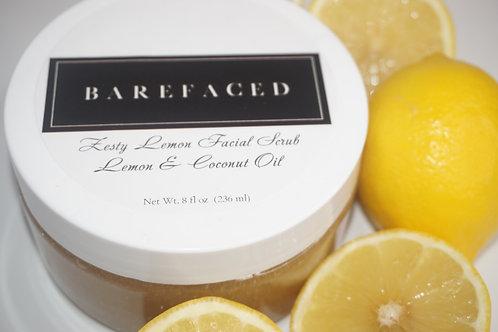 Zesty Lemon Facial Scrub