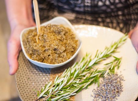 Spa Recipes: Sage Lodge Sugar Scrub