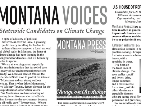Montana Candidates: Climate Change