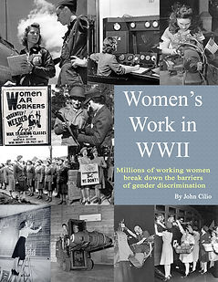 Womens Work in WWII Book Cove