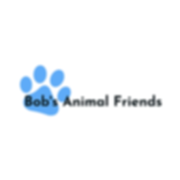 Bob's Animal Friends | Paw | Logo