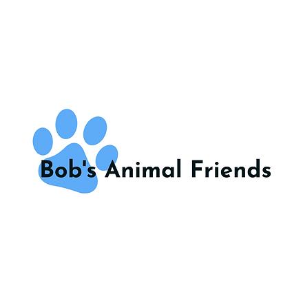 Bob's Animal Friends | Paw | Logo