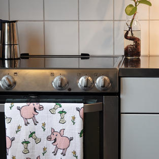 Kitchen Towles | Pig
