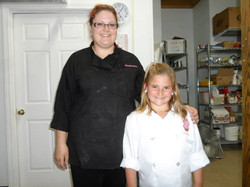 Zoe with First Act Bakery Owner