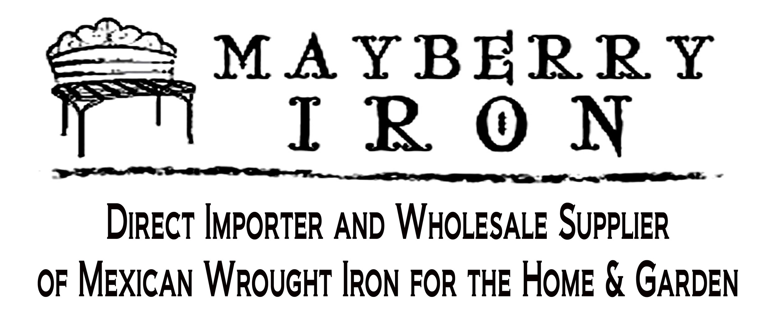 MAYBERRY IRON MEXICAN WROUGHT IRON AND YARD ART
