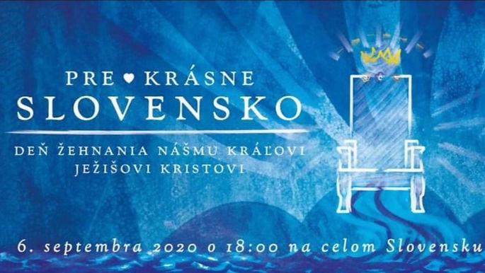 Ľudmila Trenklerová pozvánka na Deň D modlitby na hrade Bratislava 2020