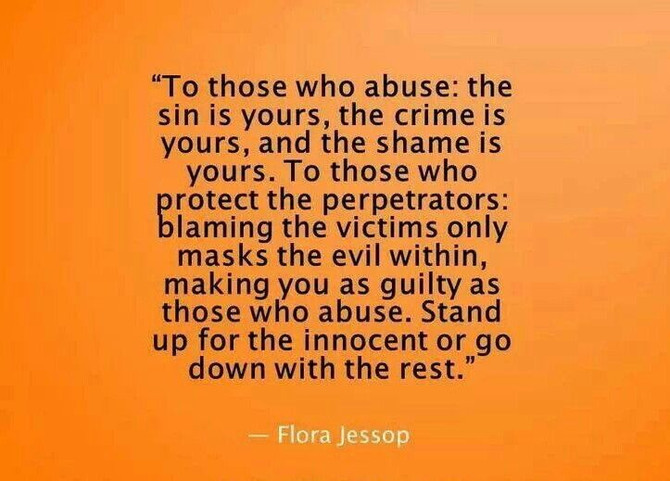 Blaming the victims of domestic violence – #LarsSpeaksOut