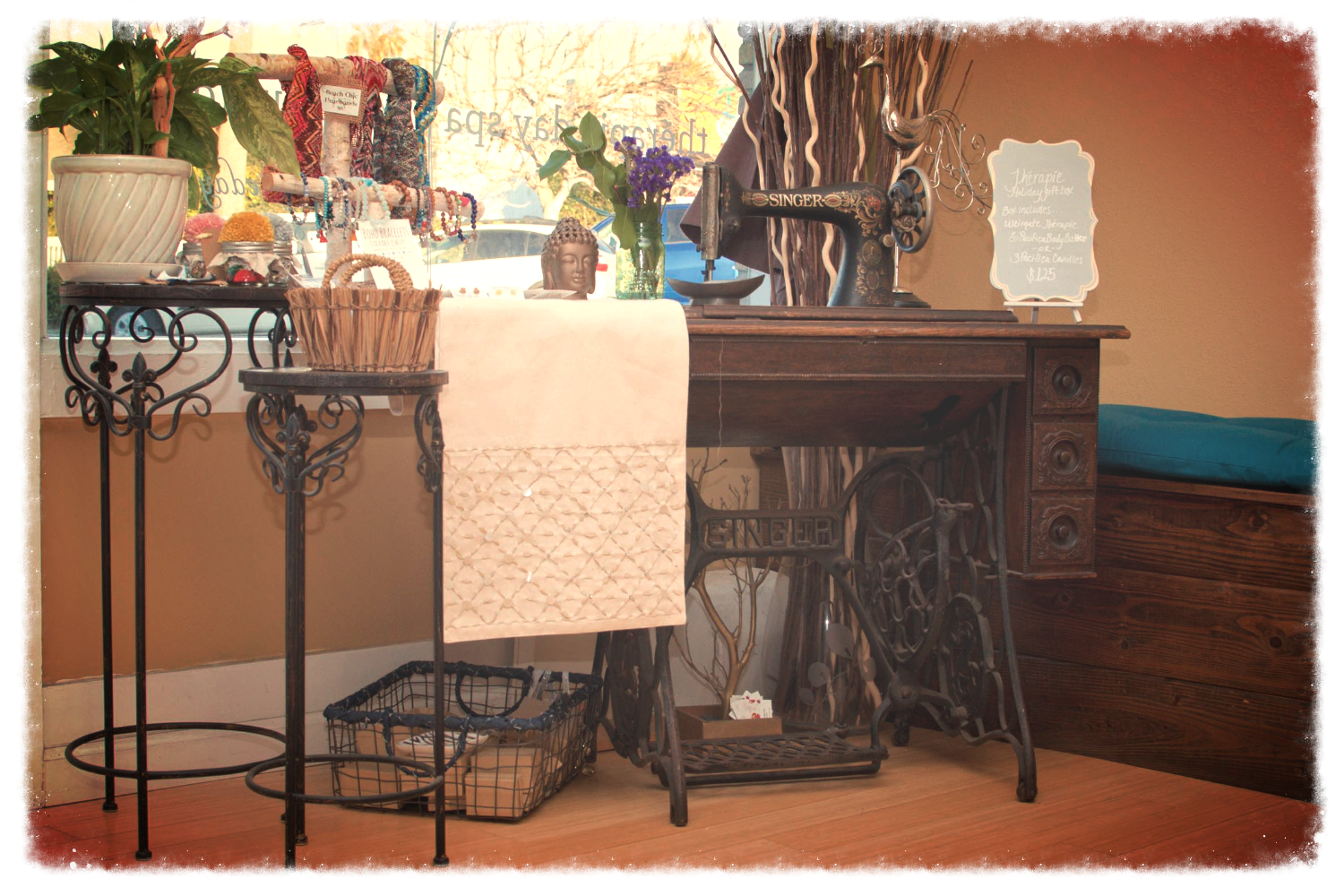 Our boutique feat. artisan gifts