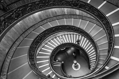 Bramante Staircase Print