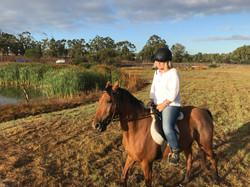 horseback riding in the Stellenbosch