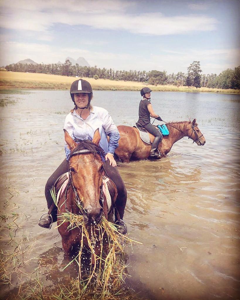 Horse riding in Cape Town, Stellenbosch