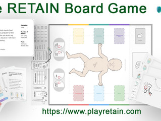 The RETAIN Board Game - preorder your copy now