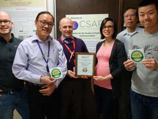 Green Spaces Gold certification