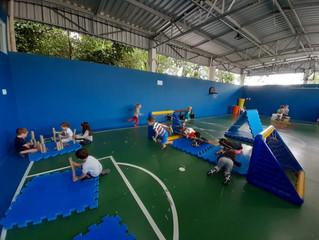 Atividade física na Educação Infantil