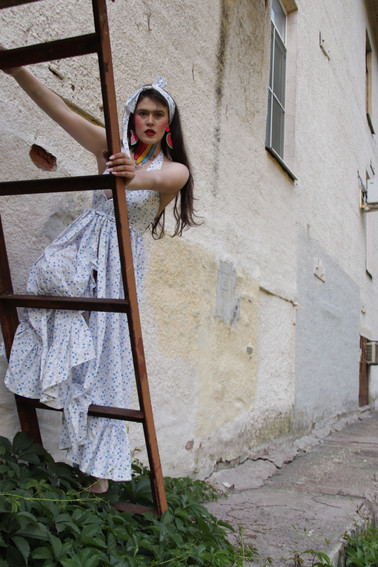 Art director: Ossetrova Eugeniya @ossetrova_fusion  Ph: Ossetrova Eugeniya @ossetrova_photolife  Muah: Sophie Baryshevskaya @sophiebaryshevskaya_art Софа Барышевская  Stylist: Alyona Galkina @elenaialena Елена Галкина  Md: Sophie Tager @tager.st  Wardrobe: @hhlvk, @edem_style, @ mysecretroom.store, @placep_design, @ jkstories.ru