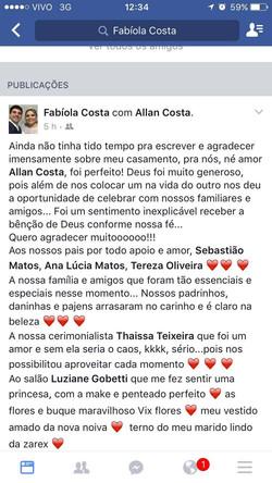 Fabiola e Allan