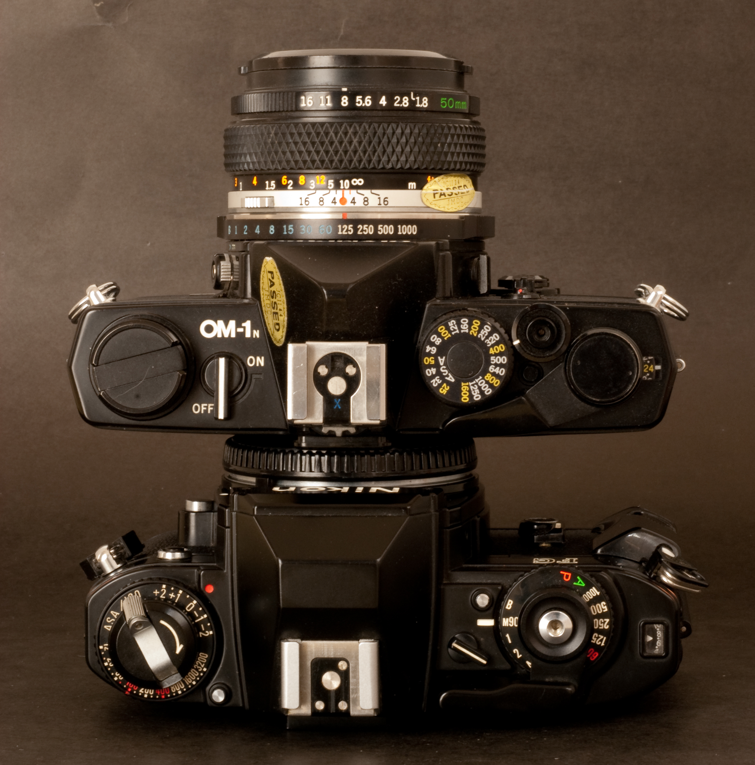 stacked cameras