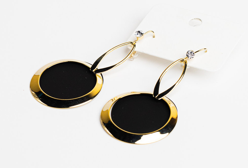 Simply Yours Black Earrings