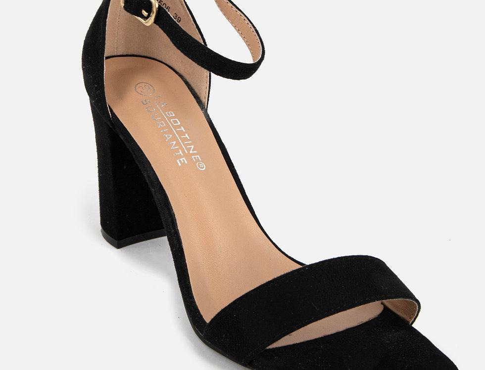 Keep It Simple Black Sandals