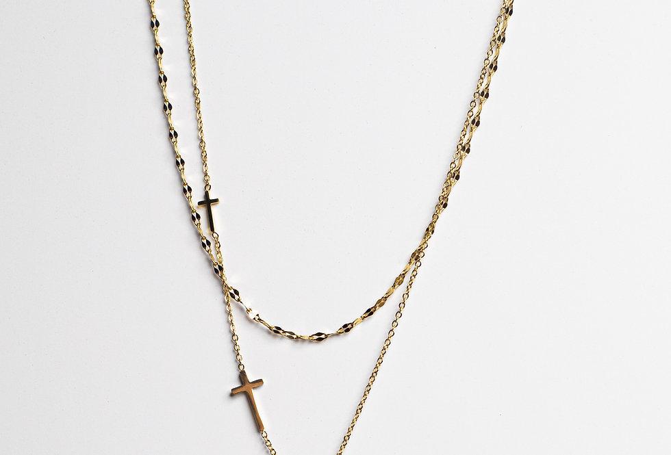 Believe In Me Golden Necklace