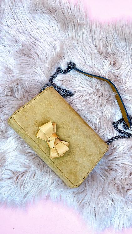 Camel Bow Bag