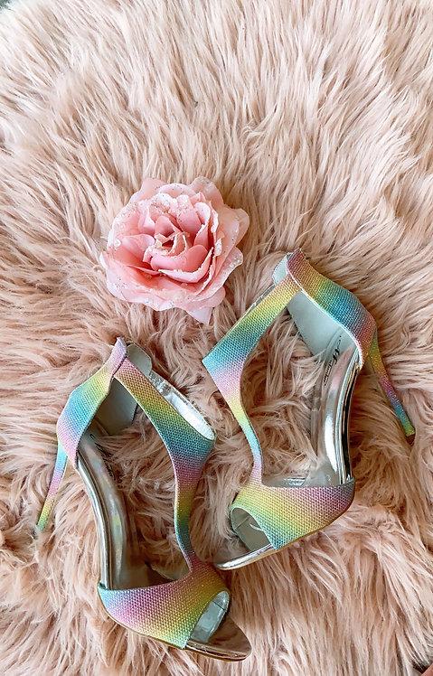 Rainbow Paradise Heels