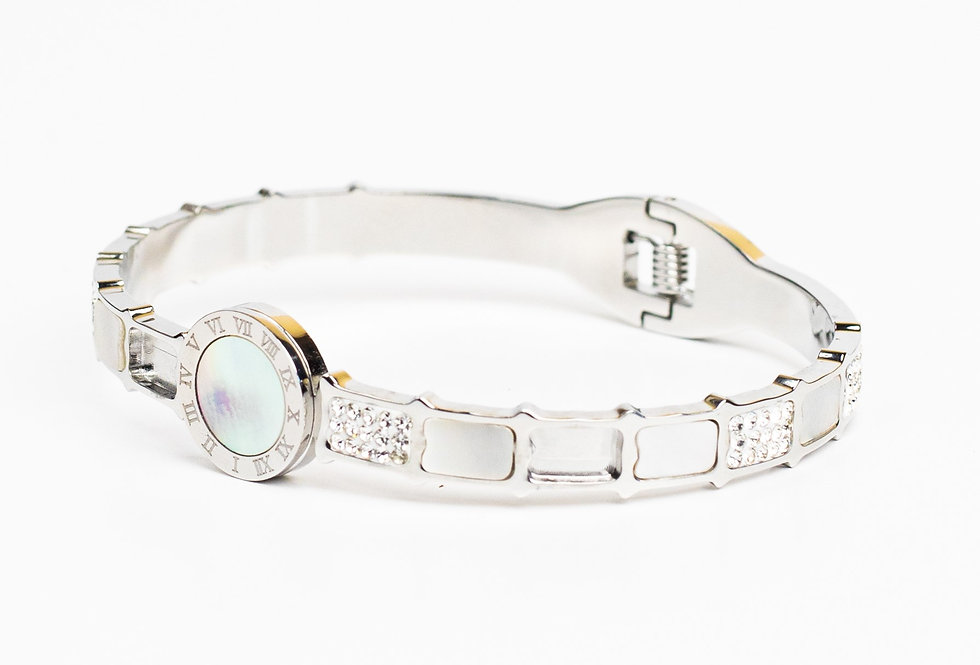Most Wanted Silver Bracelet
