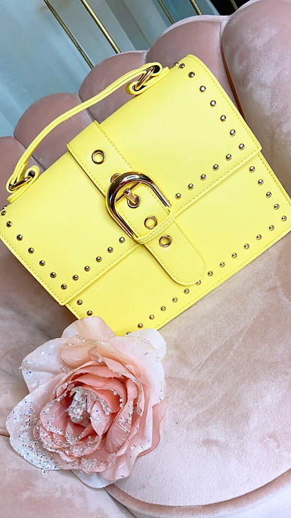 Odysée Yellow Handbag