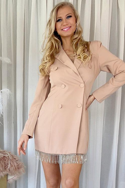 Jennie Fringle Blazer Dress