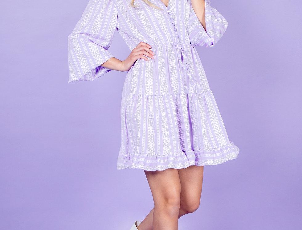 Sweet Like Sugar Cute Lila Dress