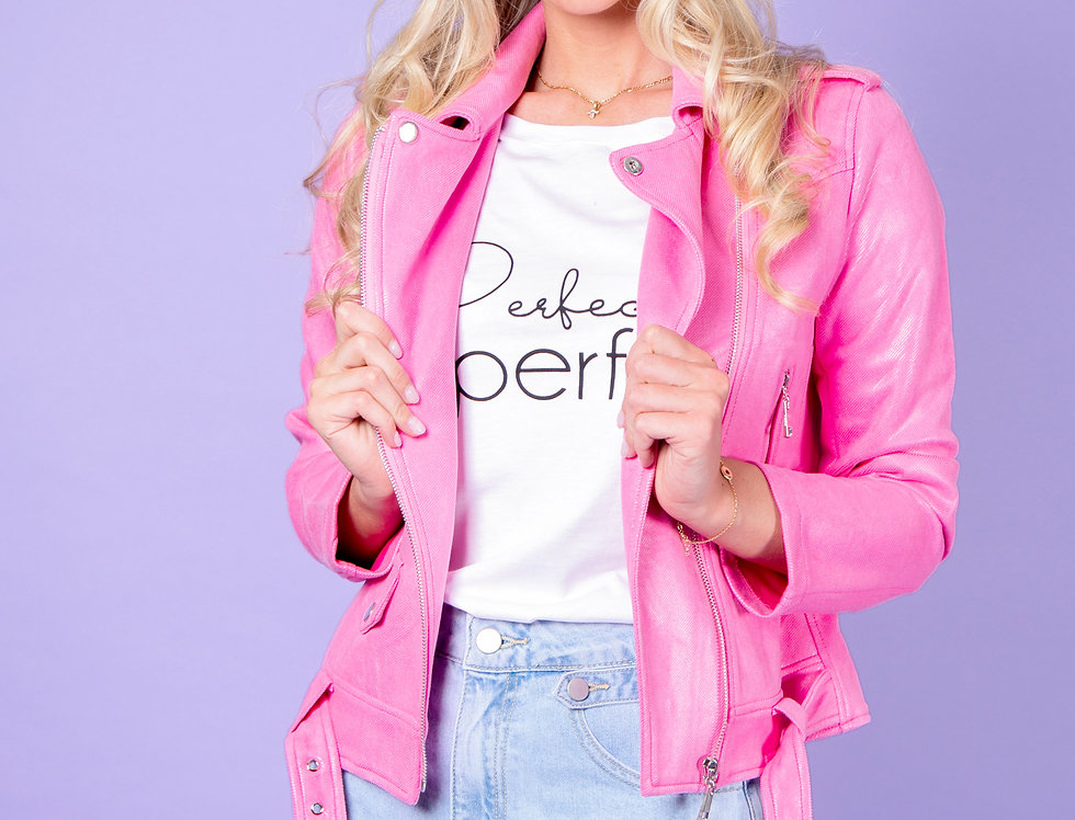 Just Fabulous Pink Jacket