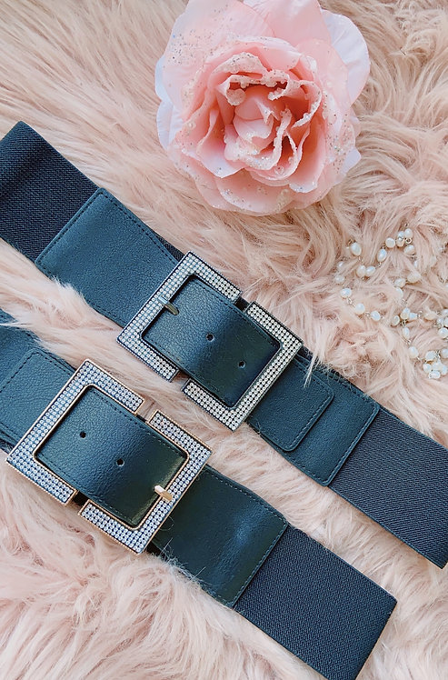 Annabelle Black Diamond Belt