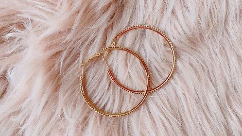 Eloise Golden Diamond Earrings