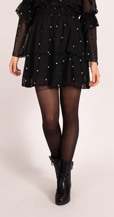 Lucy Black Luxe Skirt